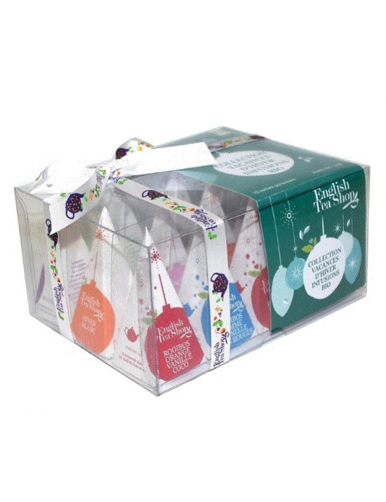 Coffret d'infusions collection vacances d'hiver - English Tea Shop