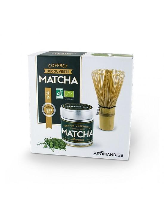 Coffret découvert thé Matcha - Aromandise