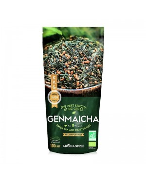 Thé vert et riz Genmaicha - Aromandise