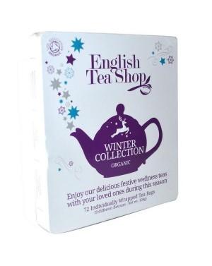 Coffret métallique de thés et infusions d'hiver - English Tea Shop