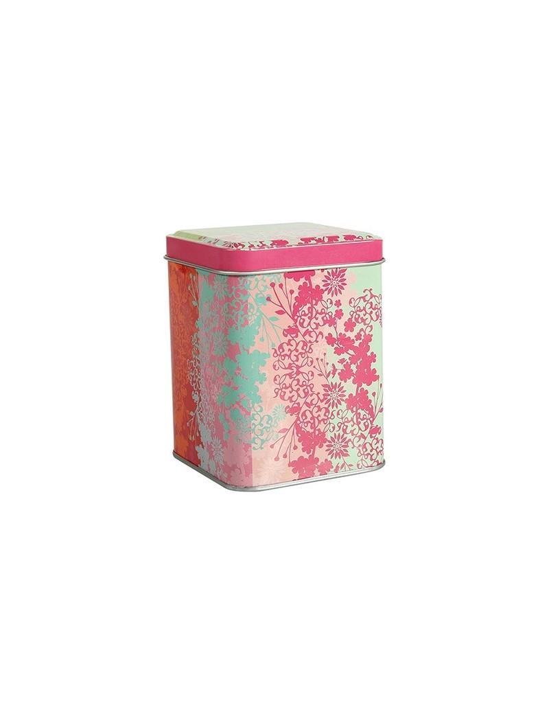 Boite à thé carrée Sakura