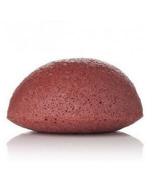 Eponge Konjac à l'argile rouge