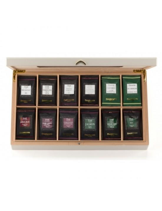 Coffret à thé en sachets Grand Palace - Dammann frères