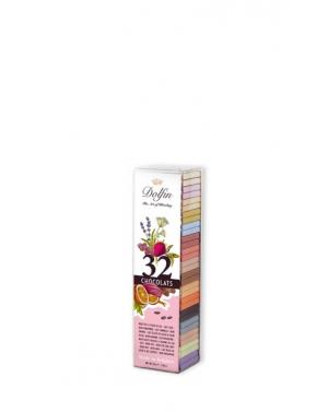 Tube de 32 chocolats napolitains 16 saveurs - Dolfin        __FV__
