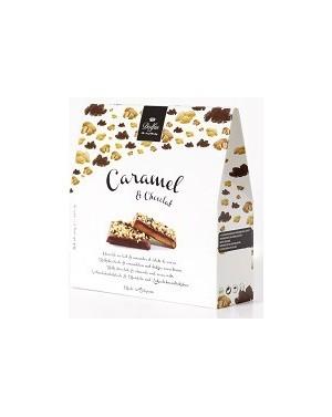 Caramel  et  chocolat au lait, amandes et éclats de cacao - Dolfin