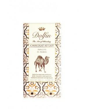 Chocolat au lait Abricot du Maroc - Carnet de voyage - Dolfin