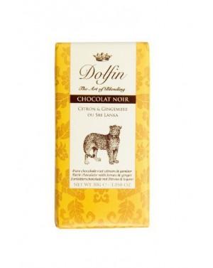 Chocolat noir Citron  et  Gingembre du Sri Lanka - Carnet de voyage - Dolfin