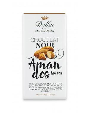 Chocolat noir Amandes grillées - Dolfin