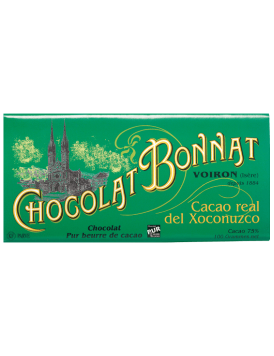 Tablette de chocolat Real Del Xoconuzco - Bonnat