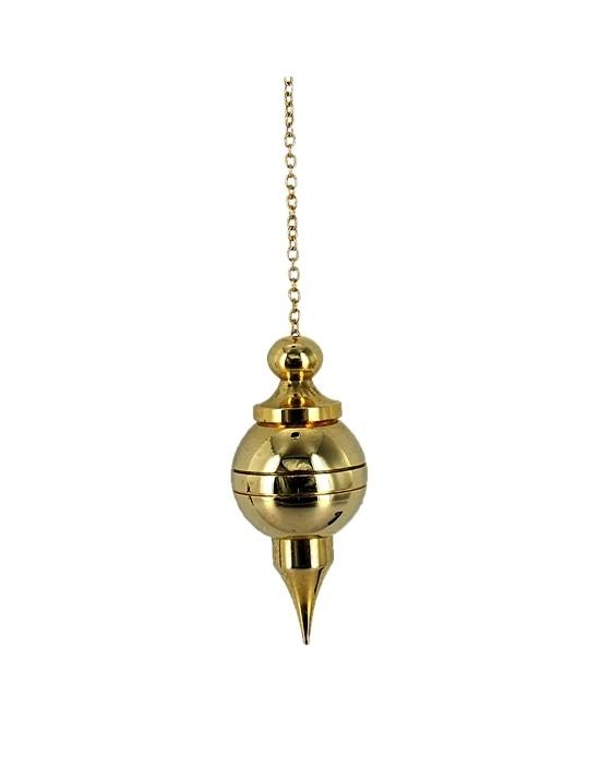 Pendule sephoroton aiguille dorée