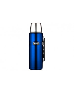 Bouteille Bleu Isotherme Métal 1 Thermos 2l DH29WEYeI