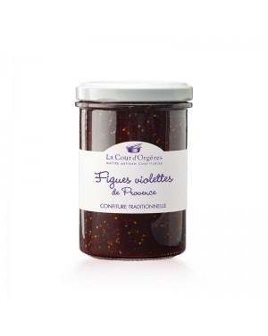 Confiture Figue Violette de Provence - La cour d'Orgères