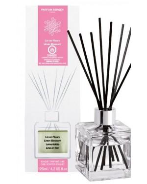 Bouquet parfumé cube Lin en fleurs - Parfum Berger