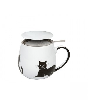 Mug Snuggle avec filtre et couvercle My lovely cats - Konitz