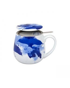 Mug Snuggle avec filtre et couvercle Seeing Blue - Konitz