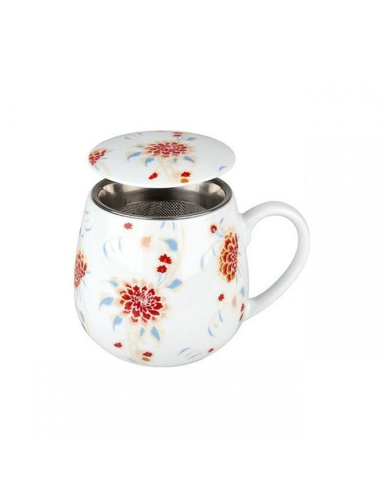 Mug Snuggle avec filtre et couvercle Beautiful she says! - Konitz