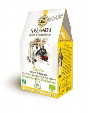 Café bio 100pourcent Arabica d'Ethiopie - Oscar - Terramoka