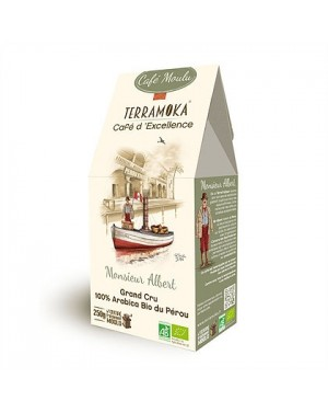 Café bio moulu 100pourcent Arabica - Pérou - Terramoka