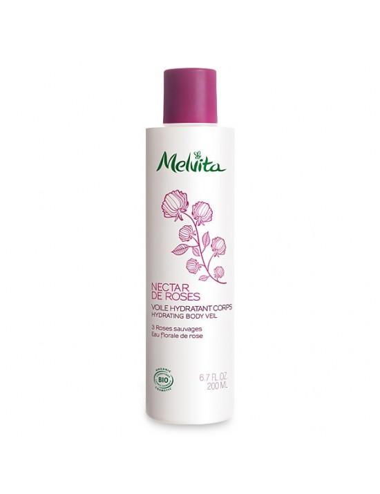 Voile hydratant corps Nectar de Roses - Melvita