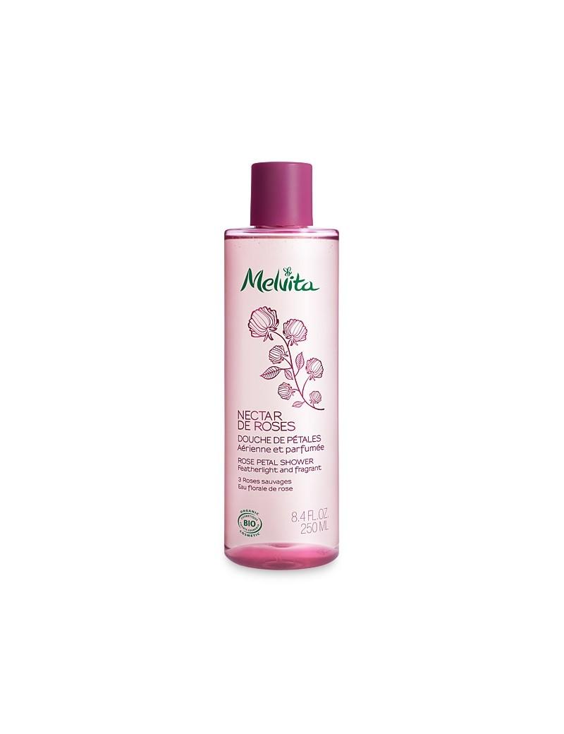 Douche de pétales Nectar de Roses bio - Melvita