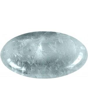 Cristal de roche en galet 3,5x4cm