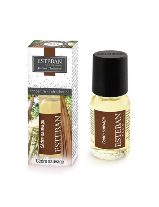 Concentré de parfum Cèdre sauvage - Esteban