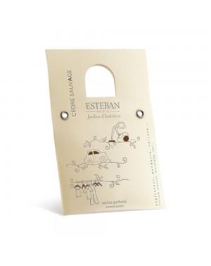 Sachet parfumé Cèdre sauvage - Esteban