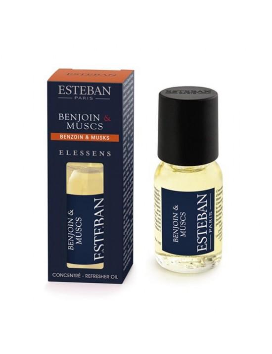 Concentré de parfum Benjoin  et  Musc - Esteban