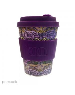 Mug en fibre de bambou Peacock 340ml - William Morris Designs