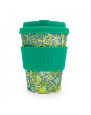 Mug en fibre de bambou Seaweed Marine 340ml - William Morris Designs
