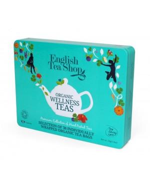 Coffret sélection bien-être de thés et infusions bio - English Tea Shop