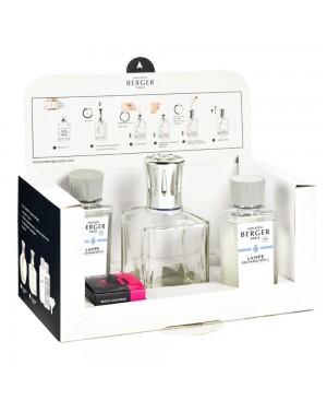 Coffret Essentielle carrée + 2 parfums - Maison Berger