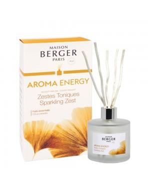 Bouquet parfumé Aroma Energy Zestes Toniques - Maison Berger