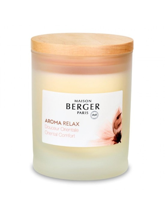 Bougie parfumée Aroma Relax Douceur Orientale - Maison Berger