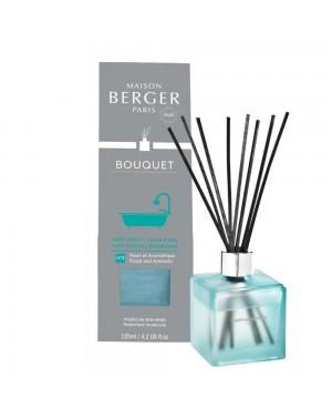 Bouquet parfumé cube Salle d'eau givré - Maison Berger