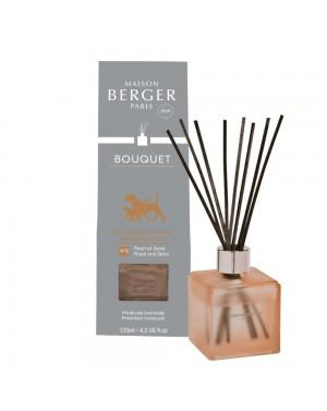 Bouquet parfumé cube Odeurs d'animaux givré - Maison Berger