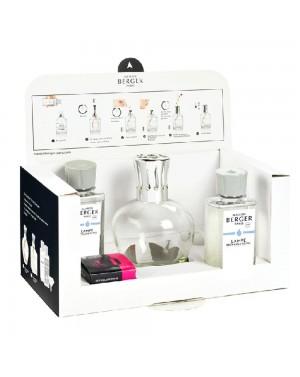 Coffret Essentielle ronde + 2 parfums - Maison Berger