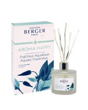 Bouquet parfumé Aroma Happy Fraîcheur Aquatique - Maison Berger