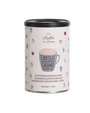 Chocolat en poudre aromatisé caramel au beurre salé - Dolfin