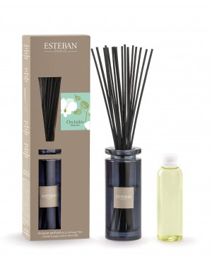 Bouquet parfumé initial Orchidée Blanche - Esteban