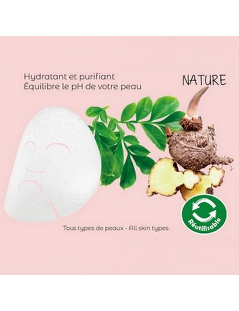 Masque konjac nature