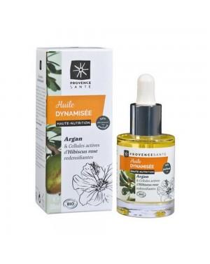 Huile végétale dynamisée Argan bio - Provence Santé