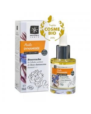 Huile végétale dynamisée Bourrache bio - Provence Santé