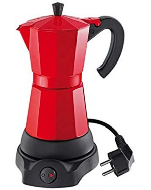Cafetière italienne électrique Classico 6 tasses rouge - Cilio