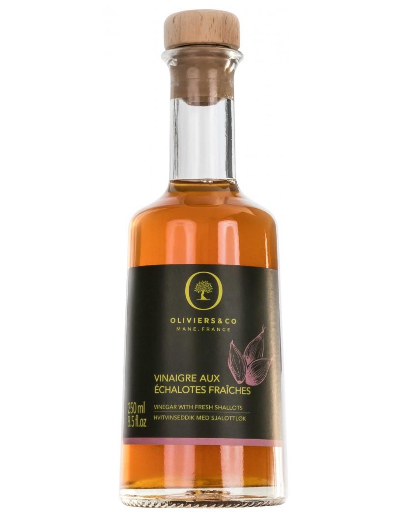 Vinaigre aux Echalottes Fraiches 250 ml - Oliviers  et  co