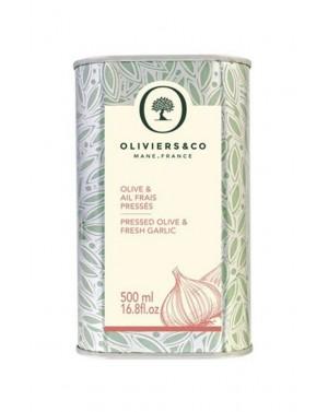 Huile d'Olive Ail Frais Pressé 500 ml - Olivier  et  co