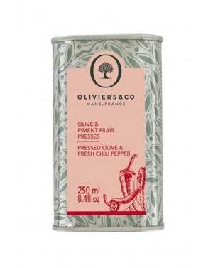 Huile d'olive Piments frais pressés 250ml