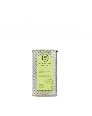 Huile d'olive Citron vert pressé 250ml - Oliviers  et  co