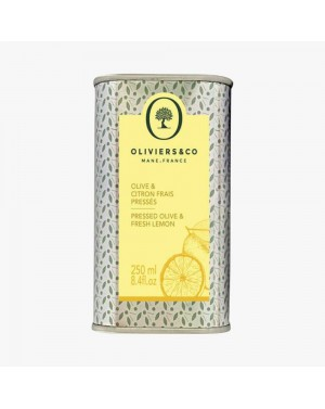 Huile d'olive Citron frais pressé 250ml - Oliviers  et  co