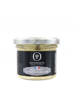 Moutarde à la truffe noire 2,55% - Oliviers  et  co